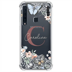 capa-para-galaxy-a9a9-pro-vx-case-monograma-butterfly-lace-rose-transparente
