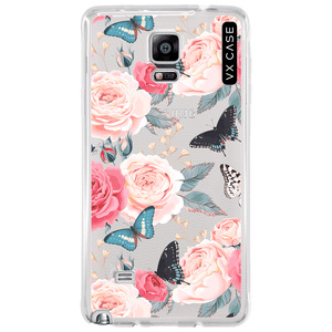 capa-para-galaxy-note-4-vx-case-peonies-butterfly-transparente