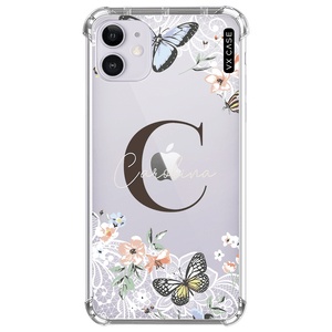 capa-para-iphone-11-vx-case-monograma-butterfly-lace-translucida