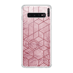 capa-para-galaxy-s10-vx-case-pink-tropical-leaves-translucida
