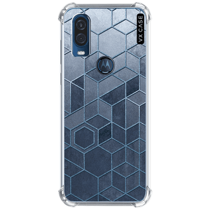 capa-para-motorola-one-action-vision-vx-case-blue-relief-translucida
