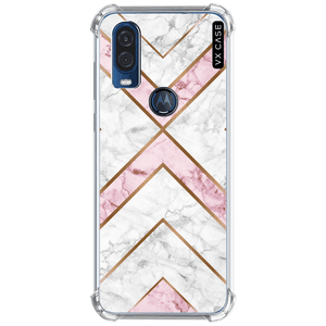 capa-para-motorola-one-action-vision-vx-case-rose-and-carrara-marble-translucida