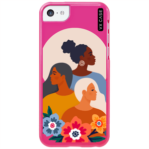 capa-para-iphone-5c-vx-case-lets-grow-together-rosa