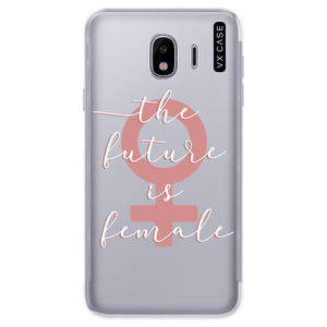 capa-para-galaxy-j4-2018-vx-case-the-future-is-female-translucida