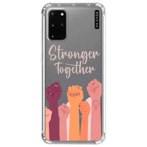 capa-para-galaxy-s20-plus-vx-case-stronger-together-translucida