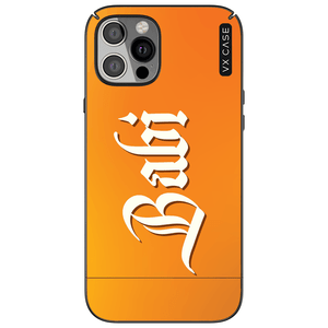 capa-para-iphone-12-pro-max-vx-case-orange-gothic-name-preta-fosca