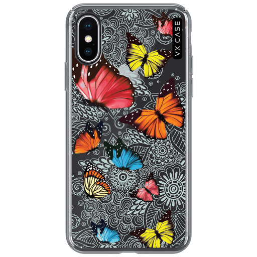 capa-para-iphone-xs-vx-case-butterfly-garden