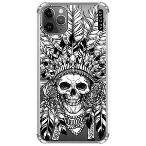 capa-para-iphone-11-pro-vx-case-indian-skull-capas-de-cor-escura-transparente