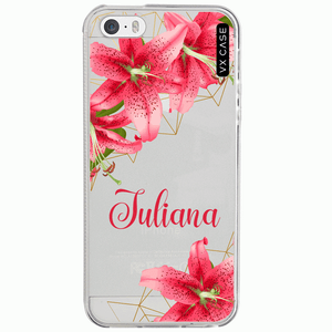 capa-para-iphone-5sse-vx-case-lily-flower-transparente