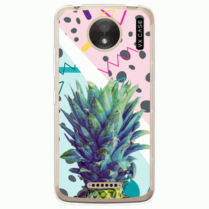 capa-para-moto-c-plus-vx-case-pineapple-art-transparente