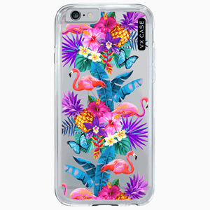 capa-para-iphone-6s-plus-vx-case-flamingos-paradise-transparente