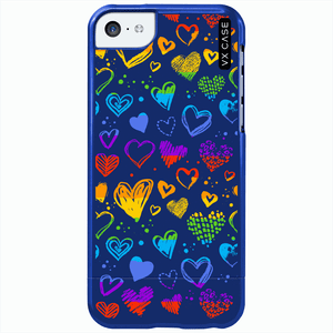 capa-para-iphone-5c-vx-case-rainbow-heart-azul