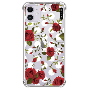 capa-para-iphone-11-vx-case-polka-dots-and-roses-translucida