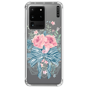 capa-para-galaxy-s20-ultra-vx-case-bouquet-ribbon-translucida
